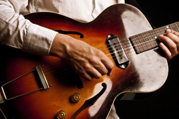 Jazz Guitar Player